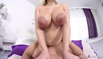 Big cock boss fucks his submissive assistant with stockings