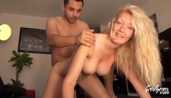 Blonde teacher fucks a student titty teen