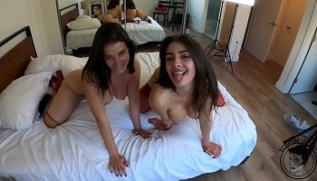 Passionate housewife Angela White drank wine and wanted anal
