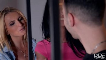 Two plump lustful girlfriend lesbians on a picnic