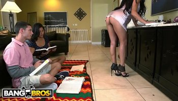 My big ass latina maid