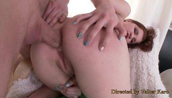 Big booty blonde amateur Kaylee Evans fucked hard
