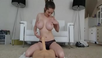 Sexy Latina sucking and fucking with a stranger in the kitchen