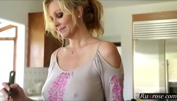 Sweet eyed clever Tia Cyrus takes her best friend's cock during lessons